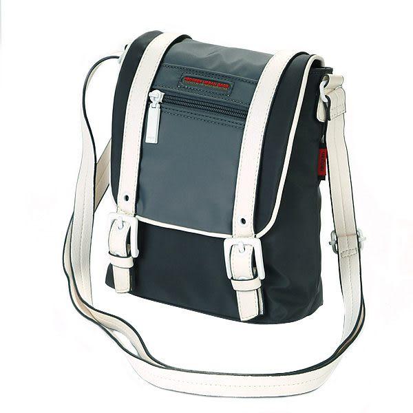 HEDGREN 休閒系列輕便雙配色小型側背包(碳灰) HSH13000CC