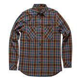 Deus Bundy 經典格紋長袖襯衫-棕