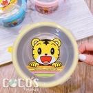 正版授權 巧虎 不銹鋼雙耳隔熱餐碗 304不鏽鋼隔熱碗 環保碗兒童碗 黃色款 COCOS SN110