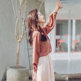 襯衣網紗兩件套2018新款女裝春裝時髦套裝時尚春季小仙女連身裙潮 挪威森林