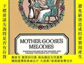二手書博民逛書店Mother罕見Goose s MelodiesY256260 Mother Goose Dover Publ