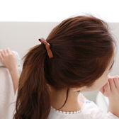 [輸入yahoo5再折!]簡約氣質PU皮革蝴蝶結髮束 髮繩 (不挑色) ACE0044