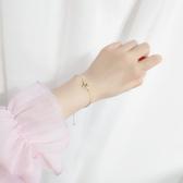 手環 簡約 寶石 水滴 圖騰 方形 設計 宮廷風 鍊條 手環 手飾【DD1908089】 BOBI  09/26