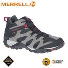 【MERRELL 美國 男 ALVERSTONE MID GORE-TEX登山鞋《鐵灰》】ML036209/健行鞋