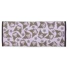 小禮堂 酷洛米 抗菌浴巾 45x110cm (紫滿版款) 4550337-80091
