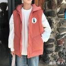 棉馬甲夾男冬棉衣外套韓版潮流面包服寬鬆無袖坎肩背心外套 XN9865【極致男人】