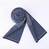 針織圍巾-羊毛時尚點點提花男披肩3色73wi73【時尚巴黎】