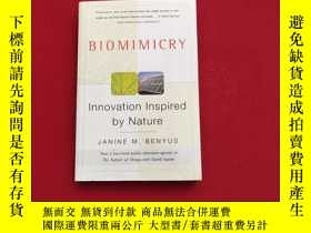 二手書博民逛書店Biomimicry:Innovation罕見Inspired by NatureY14374 Janine