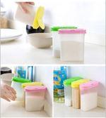 食品級塑料橢圓調味罐 塑料調料罐 廚房帶蓋胡椒粉調料盒