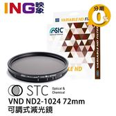【24期0利率】STC VND ND2~1024 72mm 可調式減光鏡 VARIABLE ND 台灣製造 勝勢公司貨