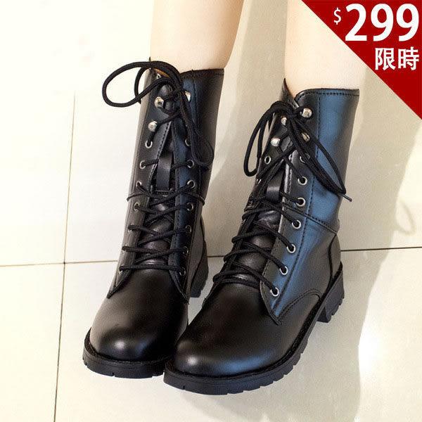 馬丁靴款-百搭新款  韓版軍靴  時尚流行  英倫風短靴【AN SHOP】