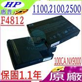 COMPAQ 電池(原廠)-康柏 電池-2100US,2200LA,2500,2590 2150,N1050V,HSTNN-DB13 系列 HP 電池