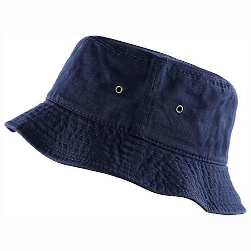 男女防曬遮陽漁夫帽(藍色)