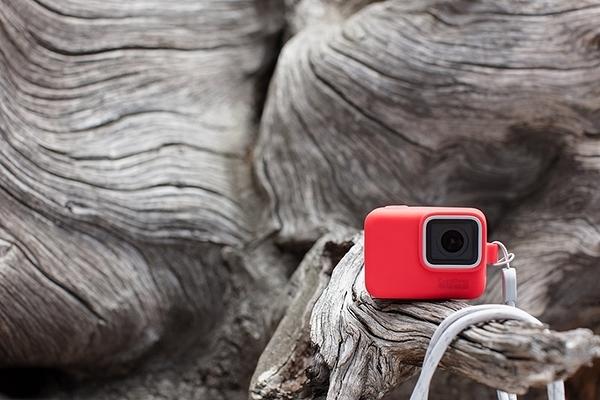 黑熊館 GoPro 矽膠護套 紅色 HERO5 HERO6 HERO7 附繩保護套 限定 保護套 ACSST-005