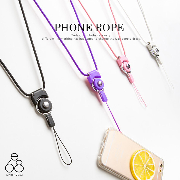 E68 手機殼 掛繩 防摔 防搶 吊繩 手機鏈 手機掛繩 素色 防掉 防搶 吊飾 證件 iPhone HTC 三星 通用