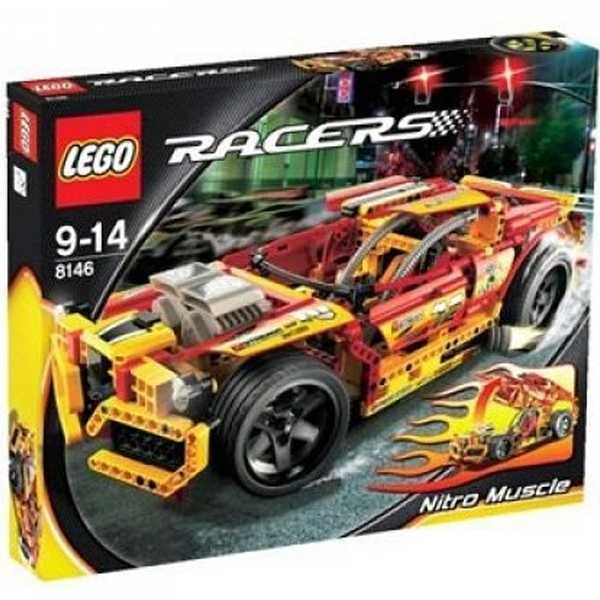 LEGO 樂高 Nitro Muscle 超級肌肉瘋狂賽車 8146