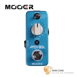Mooer Pitch Box 移調效果器【Harmony/Pitch Shifting Pedal】【Micro系列PB】