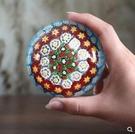 琉璃兒時萬花球汽車內飾小擺件鎮紙裝飾品手工藝品禮品紀念品【8cm萬花球】