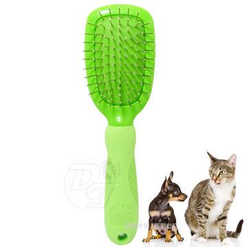 《一打就通》寵物物語 犬貓專用輕巧按摩圓梳