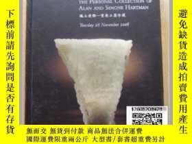 二手書博民逛書店【罕見】艾倫和西蒙尼·哈特曼藏中國玉器 Important Ch
