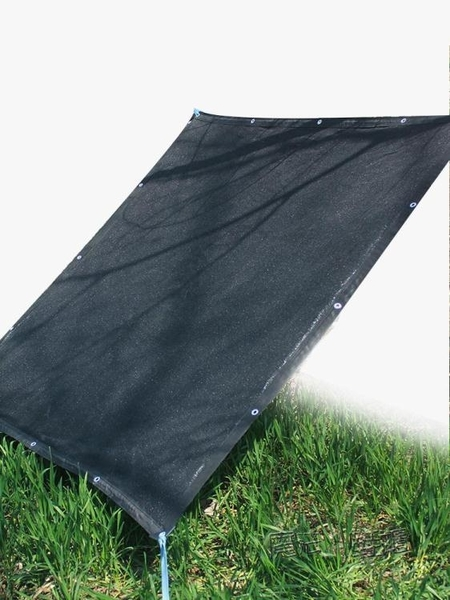 遮陽網遮光網防曬網遮陰網隔熱網加密加厚黑色10針車棚樓頂遮陰網  ATF  夏季新品