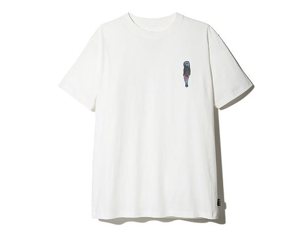 [好也戶外]snow peak 印花T恤:Pack&Carry Fireplace 棕/黑/白 No.TS-21AU00203