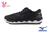 Mizuno 美津濃 成人男款 WAVE SKY 3 SW 寬楦 慢跑鞋 運動鞋 路跑 馬拉松 H9254#黑色◆OSOME奧森鞋業