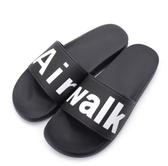AIRWALK 男女款戶外休閒拖鞋 黑-NO.A825220320