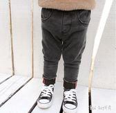 男童牛仔褲加絨加厚男冬男童保暖修身百搭褲子寶寶洋氣童裝 QG15264『Bad boy時尚』