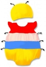 貝比幸福小舖【01699-A】歐美百搭可愛卡通造型無袖包屁衣+帽子大集合-20小螞蟻