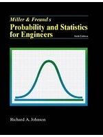二手書博民逛書店《Miller and Freund s Probability and Statistics for Engineers》 R2Y ISBN:0130179744