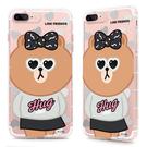 88柑仔店~GARMMA LINE Friends CHOCO iPhone 7 Plus 5.5吋-空壓氣墊防摔保護軟殼