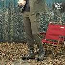 ADISI 男彈性撥水透氣快乾機能長褲AP2021072 (M-2XL) / 城市綠洲 (防潑水 磨毛保暖 排汗速乾 魚鱗褲)