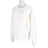 Asics Shirts [2032C074-101] 女 長袖 上衣 休閒 棉質 舒適 經典 百搭 米白