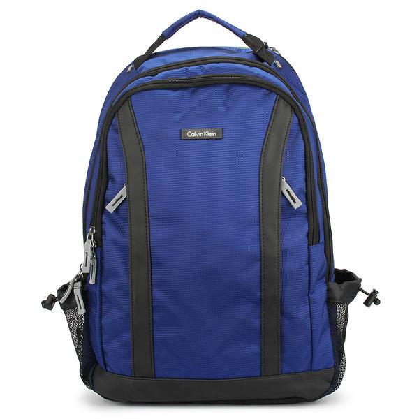Calvin Klein 尼龍大容量後背包(藍色)103333-1