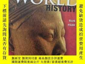 二手書博民逛書店HIGH罕見SCHOOL WORLD HISTORY 高中世界歷史Y258470 PRENTICE HALL