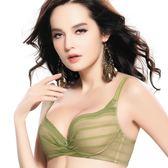 思薇爾-愛現GIRL系列B-E罩內衣(時尚綠)