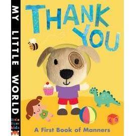 【幼兒禮貌學習書】 My Little World : THANK YOU  / 指偶書