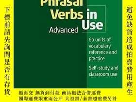 二手書博民逛書店English罕見Phrasal Verbs In Use. AdvancedY364682 Unknown