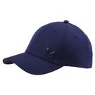 Puma 深藍色 帽子 運動帽 老帽 遮陽帽 六分割帽 金屬LOGO 運動帽 02126907