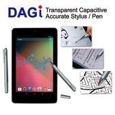 Google Apple iPad iPhone 平板電腦 智慧手機 適用之透明電容式觸控筆 電容觸控筆-Dagi Stylus 達際科技-P507