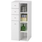 【藝匠】白色小細縫櫃/收納櫃 收納櫃 家具 組合櫃 廚具 收藏  置物櫃 櫃子 小櫃子