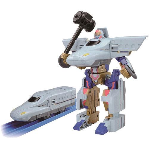 新幹線變形機器人 09 迷你ROBOT N700 SAKURA列車 (PLARAIL鐵道王國) 84457