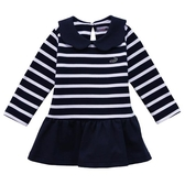 『小鱷魚童裝』條紋針織洋裝(02號~08號)558380