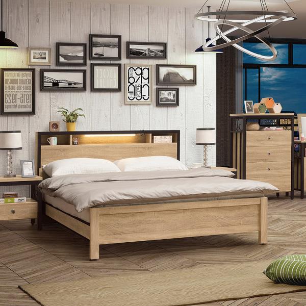床組 5.2尺床片型床台 鋼尼爾 328-2W 愛莎家居