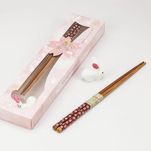 幸福婚禮小物❤可愛喜兔筷架組❤伴娘禮/送客禮/活動禮物/桌上禮/迎賓禮