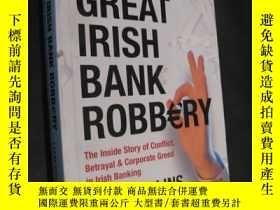 二手書博民逛書店The罕見Great Irish Bank Robbery Th