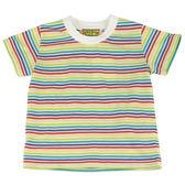 【愛的世界】純棉橫紋圓領T恤/1~2歲-台灣製- ★春夏上著