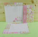 【震撼精品百貨】Hello Kitty 凱蒂貓~信紙組~粉桃