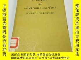 二手書博民逛書店principles罕見of electronic warfar